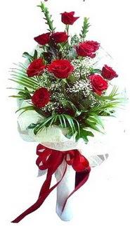 Konya online çiçekçi , çiçek siparişi  10 adet kirmizi gül buketi demeti
