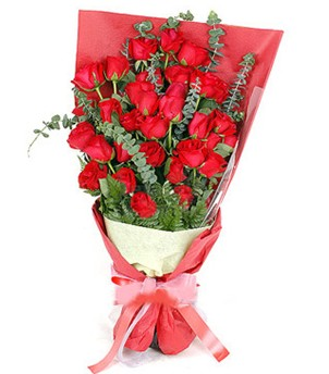Konya çiçek mağazası , çiçekçi adresleri  37 adet kırmızı güllerden buket