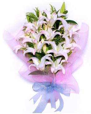5 dal kazablankadan muhteşem buket  Konya çiçek yolla , çiçek gönder , çiçekçi