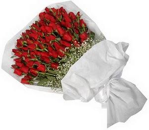 Konya hediye sevgilime hediye çiçek  51 adet kırmızı gül buket çiçeği