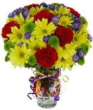 En güzel hediye karışık mevsim çiçeği  Konya çiçek yolla , çiçek gönder , çiçekçi