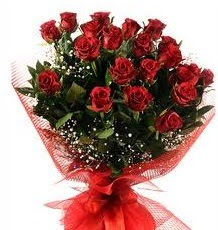 İlginç Hediye 21 Adet kırmızı gül  Konya çiçekçi telefonları