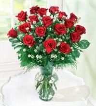Konya çiçek yolla  9 adet mika yada vazoda kirmizi güller