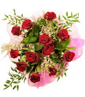 12 adet kırmızı gül buketi  Konya çiçek siparişi sitesi