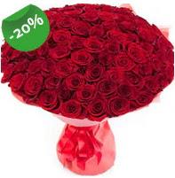 Özel mi Özel buket 101 adet kırmızı gül  Konya internetten çiçek satışı