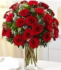 Vazo içerisinde 33 adet kırmızı gül  Konya ucuz çiçek gönder