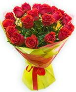 19 Adet kırmızı gül buketi  Konya çiçek satışı