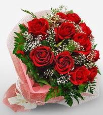 12 adet kırmızı güllerden kaliteli gül  Konya çiçek satışı
