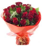 12 adet görsel bir buket tanzimi  Konya çiçek satışı