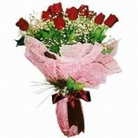 Konya çiçek gönderme sitemiz güvenlidir  12 adet kirmizi kalite gül