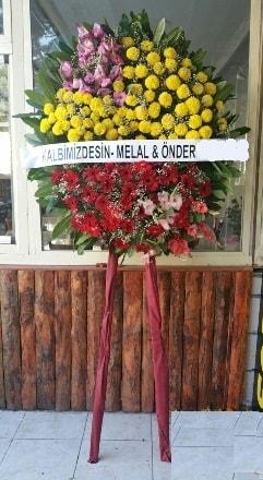 Konya internetten çiçek satışı  Cenaze çiçek modeli