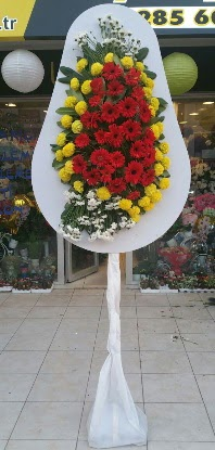Tek katlı düğün nikah açılış çiçeği  Konya çiçek satışı