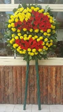 Cenaze çelengi çiçek modeli  Konya online çiçek gönderme sipariş