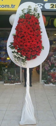 Tek katlı düğün nikah açılış çiçeği  Konya ucuz çiçek gönder