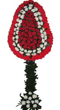 Çift katlı düğün nikah açılış çiçek modeli  Konya İnternetten çiçek siparişi