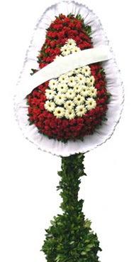 Çift katlı düğün nikah açılış çiçek modeli  Konya hediye sevgilime hediye çiçek