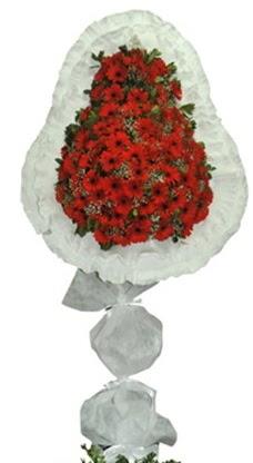 Tek katlı düğün nikah açılış çiçek modeli  Konya hediye çiçek yolla