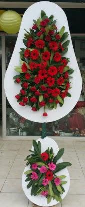 Çift katlı düğün nikah açılış çiçek modeli  Konya çiçekçi telefonları