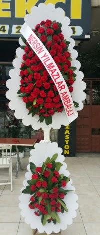 Çift katlı düğün nikah çiçeği modeli  Konya çiçek yolla , çiçek gönder , çiçekçi