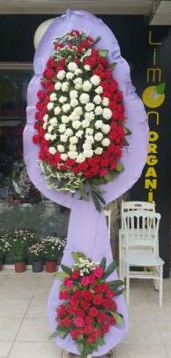 Çift katlı işyeri açılış çiçek modeli  Konya online çiçekçi , çiçek siparişi
