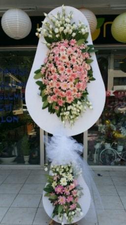 Çift katlı özel şahane sepet çiçeği  Konya kaliteli taze ve ucuz çiçekler