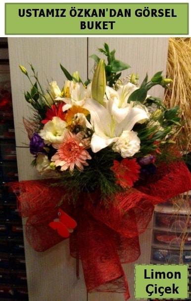 Karışık görsel mevsim çiçeği  Konya online çiçekçi , çiçek siparişi