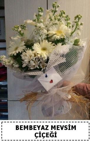 Bembeyaz görsel mevsim çiçek buketi  Konya çiçek servisi , çiçekçi adresleri