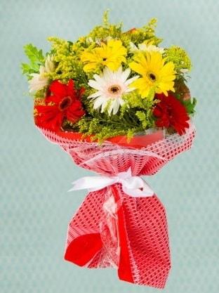 Karışık Gelbera Buketi  Konya çiçek gönderme sitemiz güvenlidir