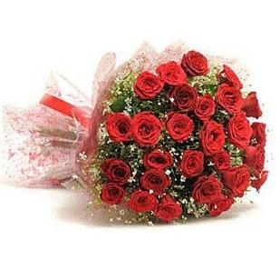 27 Adet kırmızı gül buketi  Konya online çiçekçi , çiçek siparişi