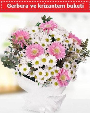 Papatya ve Gerbera Buketi  Konya yurtiçi ve yurtdışı çiçek siparişi