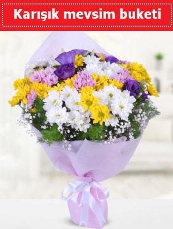 Karışık Kır Çiçeği Buketi  Konya cicekciler , cicek siparisi