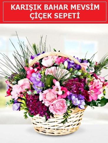 Karışık mevsim bahar çiçekleri  Konya online çiçekçi , çiçek siparişi
